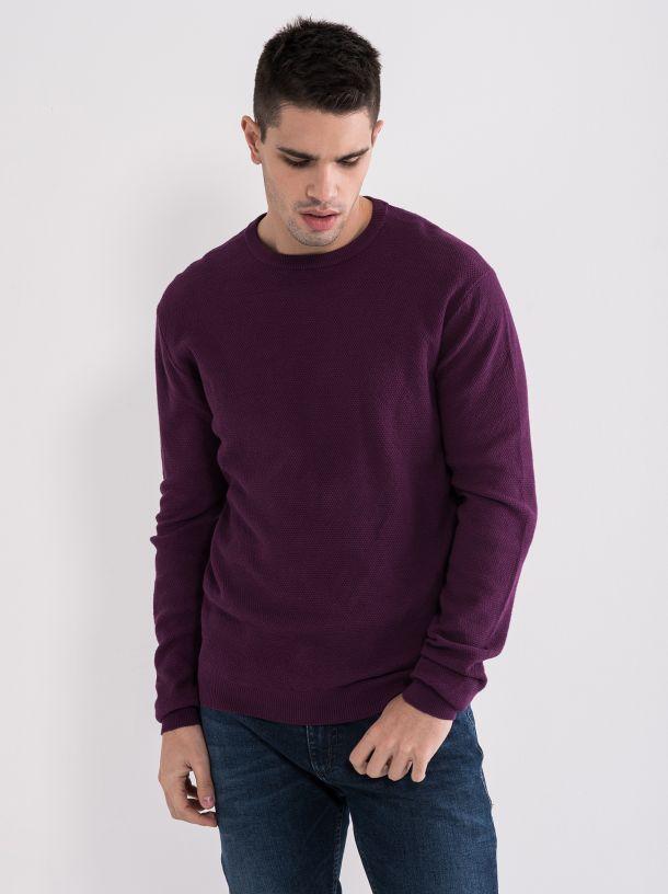 Muški džemper ljubičasti