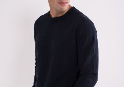 Teget muški džemper