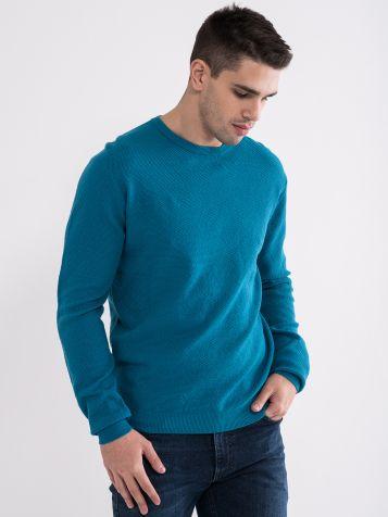 Svijetlo plavi muški džemper