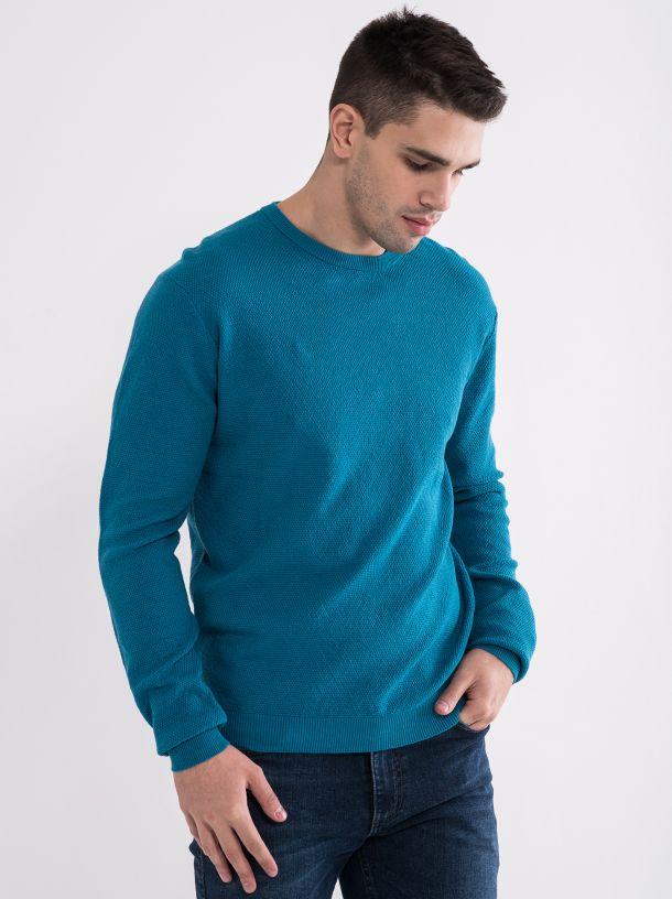 Svetlo plavi muški džemper