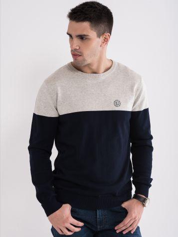 Muški džemper u dve boje
