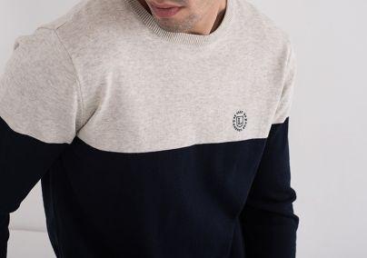 Muški džemper u dvije boje