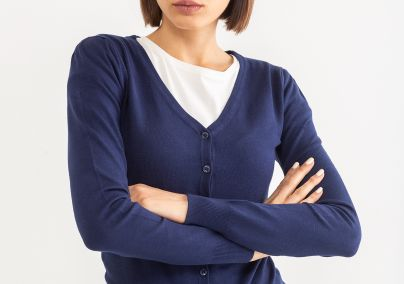 Basic džemper sa dugmićima