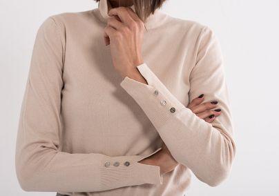 Džemper sa rolkom drap