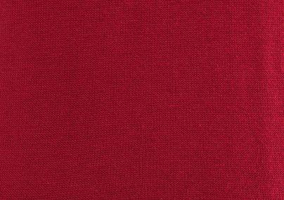 Ženski džemper V izreza crveni