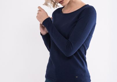 Teget ženski džemper