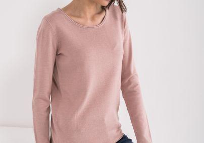 Roze ženski džemper