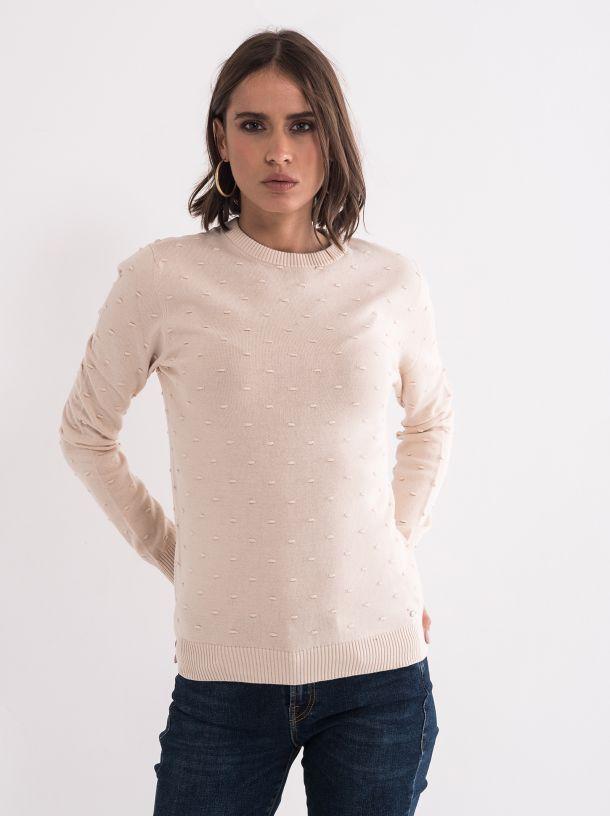 Džemper u bež boji