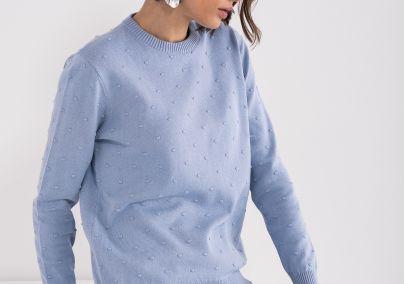 Džemper u bebi plavoj boji