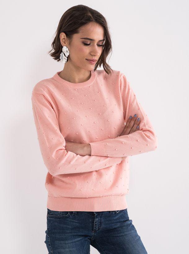 Džemper sa tufnicama