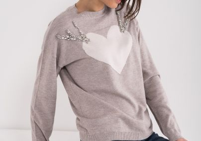 Džemper sa srcem