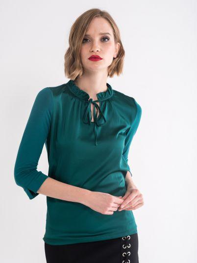 Smaragno zelena bluza