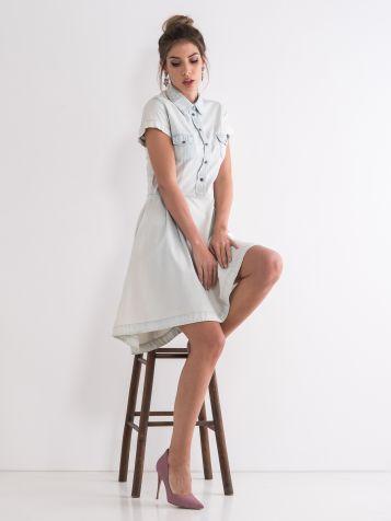 Jeans haljina A kroja