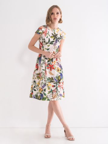 Romantična cvijetna haljina