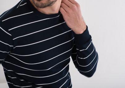 Prugasta duks majica