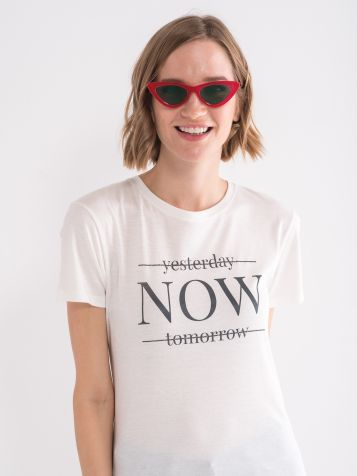 Majica NOW