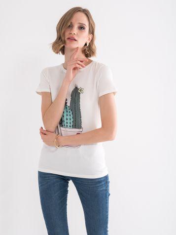 Majica sa kaktusom