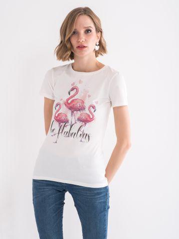 Majica sa flamingosima