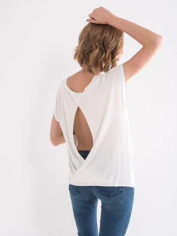 Majica sa otvorenim leđima