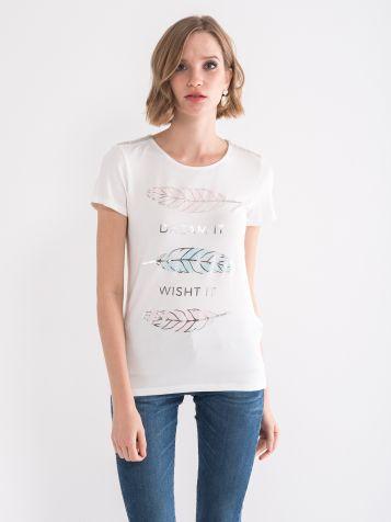 Majica sa sjajnom štampom