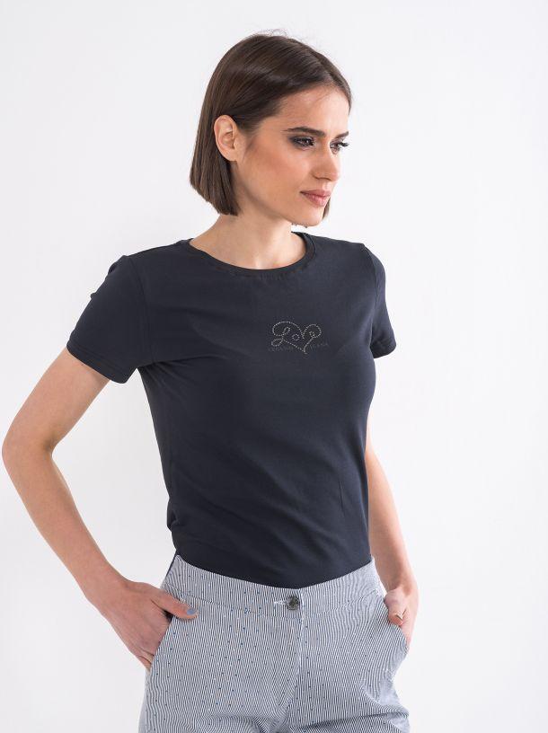 Majica sa diskretnim detaljem