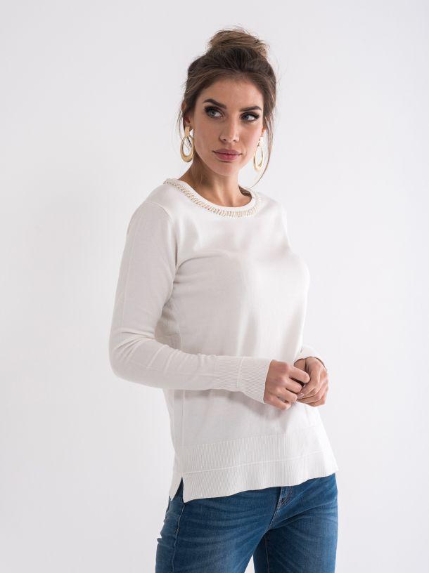 Džemper sa ogrlicom