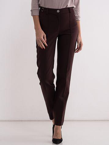 Ženske bordo pantalone