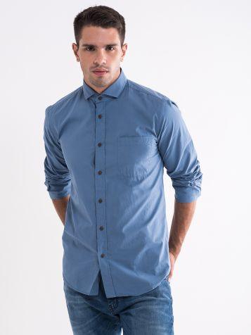 Plava pamučna košulja