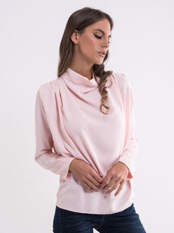 Ženska bluza u puder boji