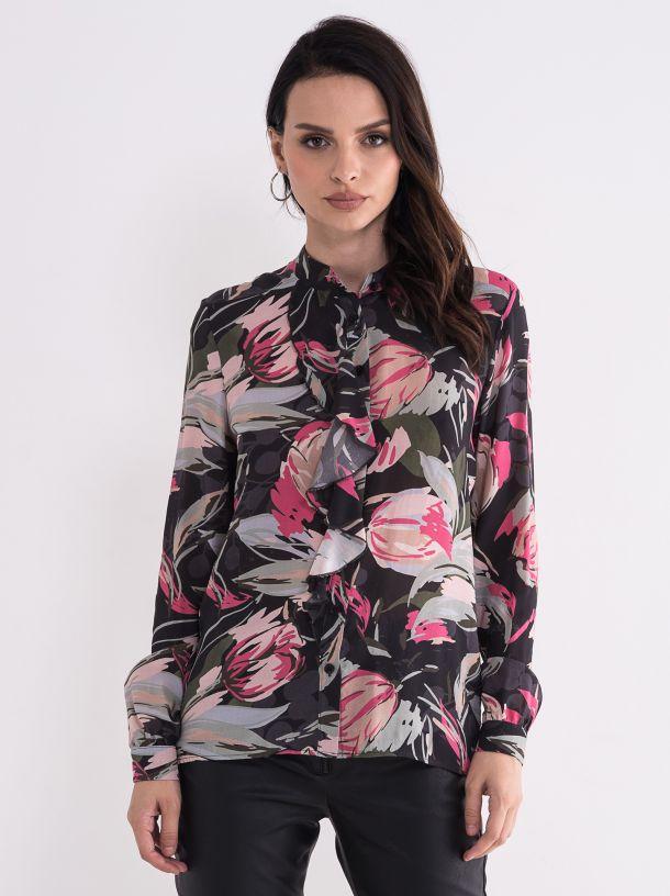 Ženska cvetna bluza