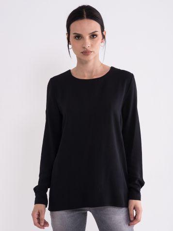 Ženska crna bluza