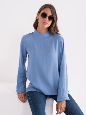 Plava žensa bluza