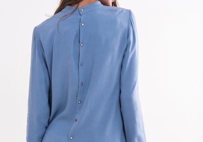 Plava ženska bluza