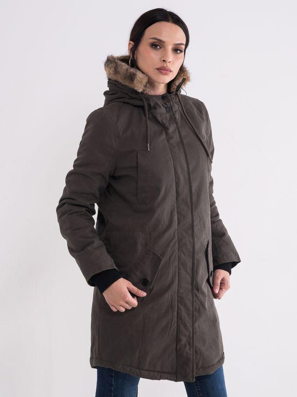 Zimska jakna sa kapuljačom