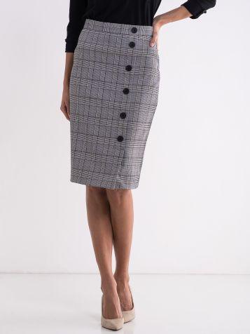 Ženska karirana suknja