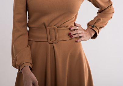 Haljina u drap-braon boji