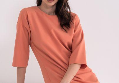 Haljina cigla boje
