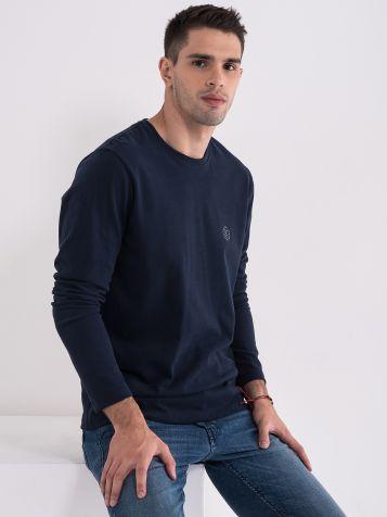 Pamučna majica dug rukav