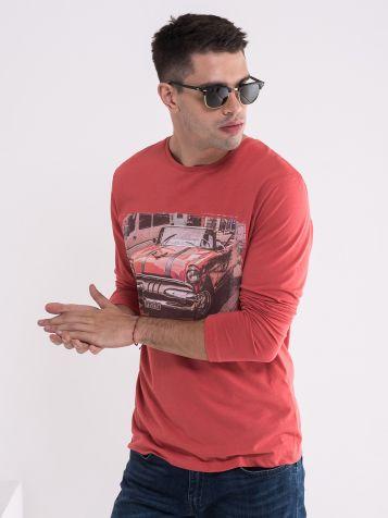 Majica sa automobilom