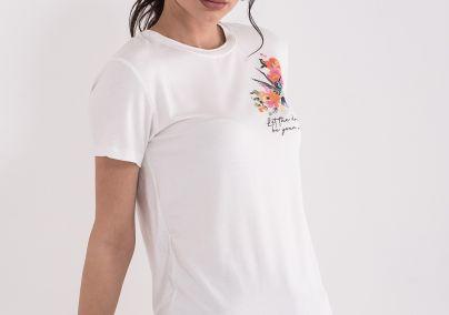 Majica sa cvećem