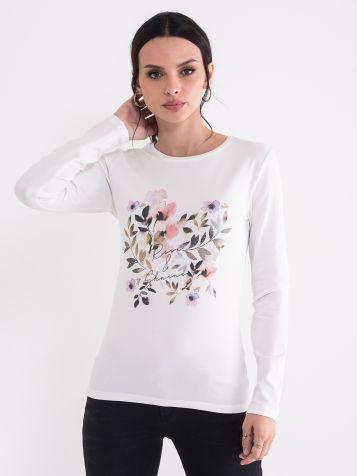 Ženska floralna majica