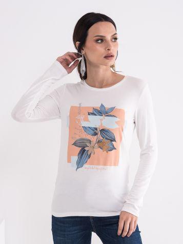 Majica sa cvetom