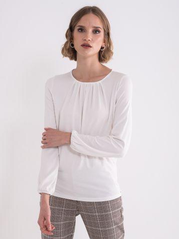 Bela elegantna bluza