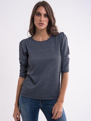 Plavo siva ženska majica