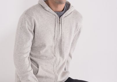 Pamučni džemper sa kapuljačom