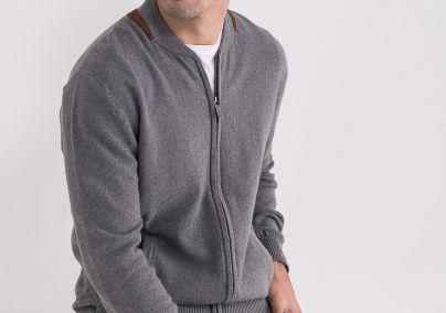Muški džemper sa rajsferšlusom