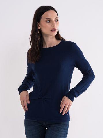 Ženski plavi džemper