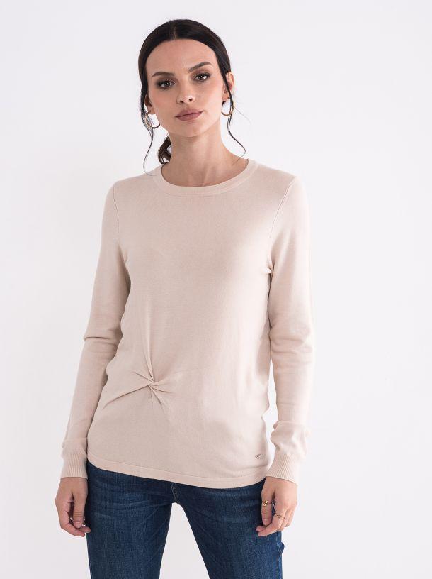 Žneski drap džemper
