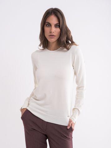 Ženski jednobojan džemper