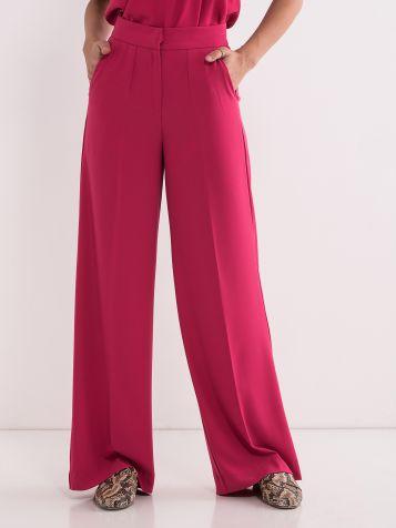 Crvene ženske pantalone